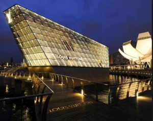 Spectacular shopping awaits at the Marina Bay Sands.