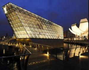 Spectacular shopping awaits at the Marina Bay Sands.