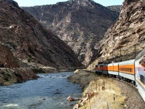 Royal Gorge Route in Colorado is beautiful for kids AND adults.