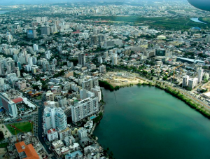 Santurce is one of the most populated areas of San Juan.