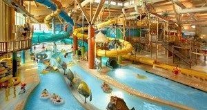 Indoor Waterparks like Schlitterbahn are perfect for kids all year round.