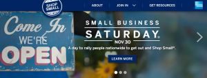 Small Business Saturday will return this year on November 30th.