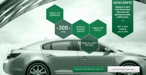 Register to earn Free Rental Days with every two qualifying rentals  or 600 points.