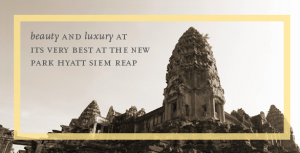 The Park Hyatt Siem Reap is offering a 1,500-point opening bonus.