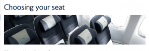 Want a seat assignment on British Airways? Get ready to pay.