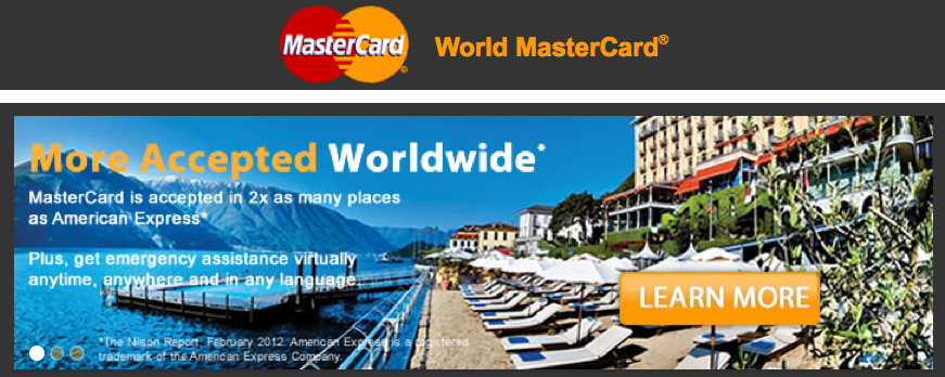 World Mastercards come with several premium benefits.