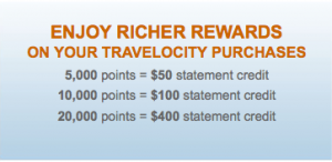Your redemptions are worth up to 2 cents per point.