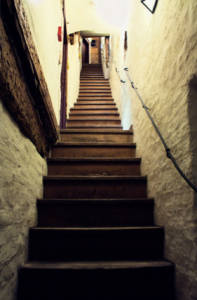 "The ""Stairway to Heaven"" at the Bier- und Oktoberfest Museum"