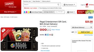 Staples Regal Entertainment Group