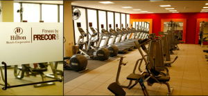 The Fitness By Precor partnership was launched by Hilton in 2006.