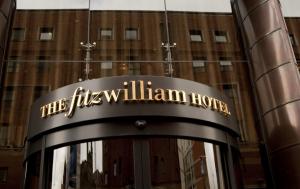 Exterior of the Fitzwilliam hotel