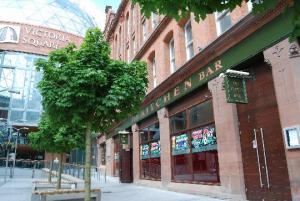 The Kitchen Bar and Victoria Square.