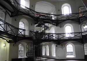 The main circle of Crumlin Road Gaol.