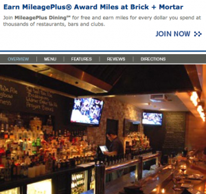 Santa Monica beach hotspot Brick + Mortar is one of the many participating restaurants where you can eat and earn.