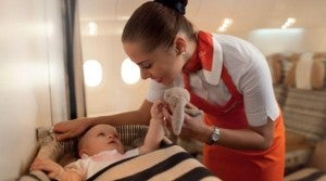 Etihad is launching their flight nanny service.