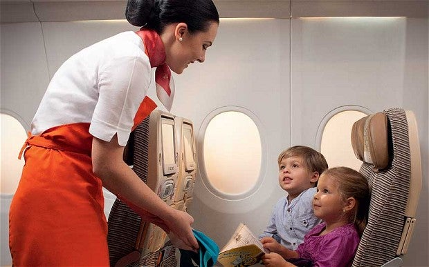 International travel requires a different set of amenities from short-haul travel.