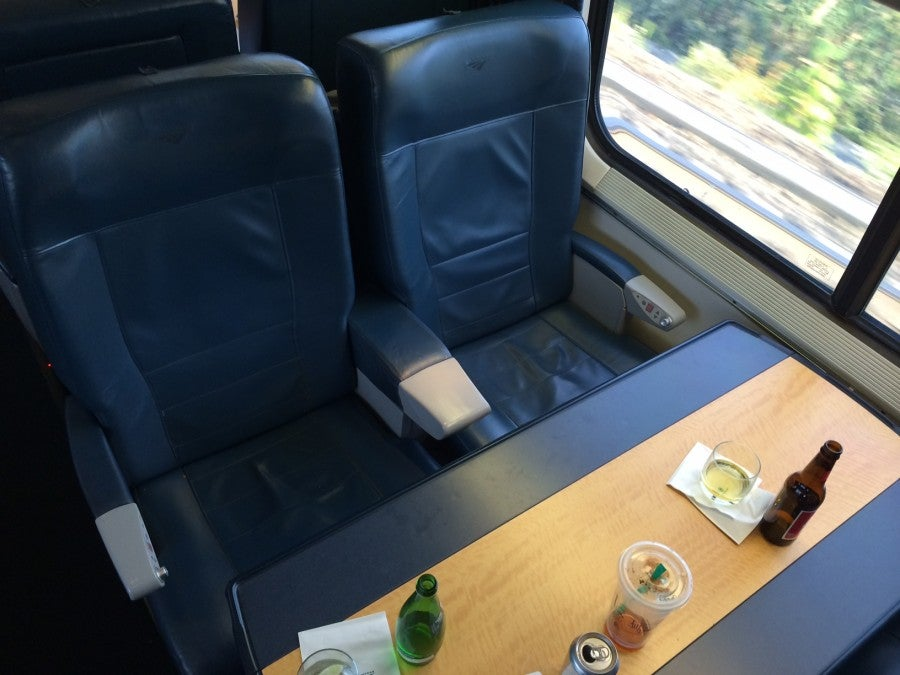 Train Review: Amtrak Acela First Class – The Points Guy