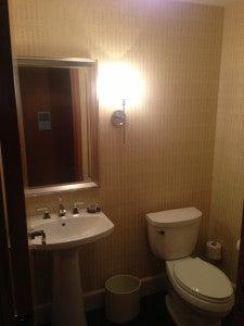 Guest powder bathroom.