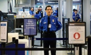 "TSA PreCheck isn't feeling so ""expedited"" lately. Photo by Joe Raedle/Getty Images"