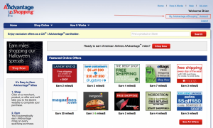 Use shopping portals to earn tons of extra bonus points and miles.