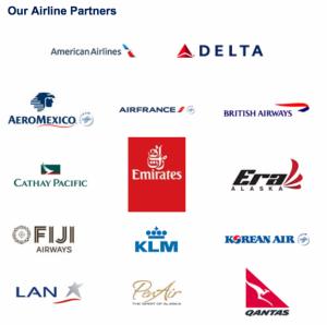 Alaska Airlines partners