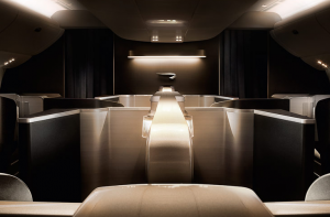 You save using Amex points to fly in British Airways' First Class Suites.