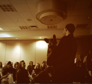 As always, Miles made a special appearance at the Chicago Seminars - much to the delight of the packed room!