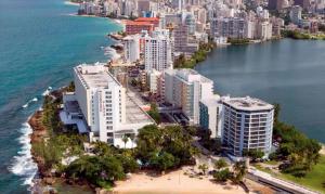 The expansive Condado Plaza Hilton.