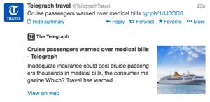 Cruise Insurance