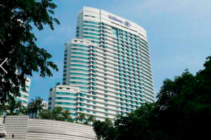 The Hilton Kuala Lumpur Hotel.