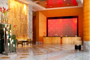 Lobby of the InterContinental Kuala Lumpur