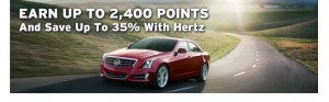 Southwest Rapid Rewards members can earn bonus points when renting with Hertz.