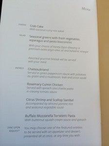 MAD-JFK menu