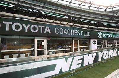 New York Jets Locker Room