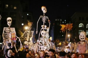 The West Village Halloween Parade in NYC is one of the biggest Halloween celebrations in the world!