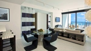 An Oasis Suite at the W should have more than enough room for you.