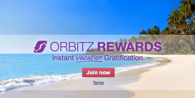 Orbitz launched its rewards program last October.