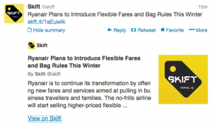 @Skift revealed big changes at budget airline Ryanair.