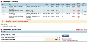 You can book this fare on Air Canada's site