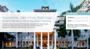 Save with Starwood in Hawaii.