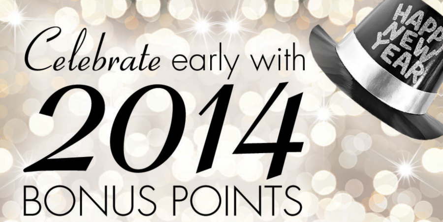 Earn 2,014 bonus points with Wyndam.