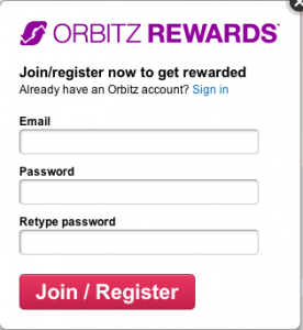 Sign up with Orbitz Rewards to be eligible for this contest!
