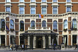 The Shelbourne Hotel in Dublin.