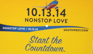 Southwest Airlines is celebrating the upcoming end of the Wright Amendment.