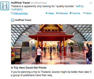 @HuffPost Travel