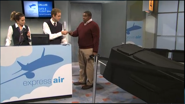 Saturday Night Live S Airline Boarding Process Spoof