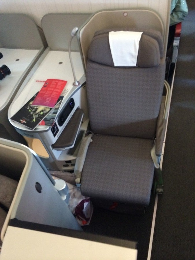 Flight Review Iberia A330 300 Business Class New York