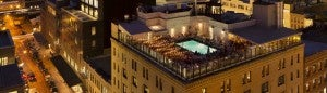 One of the New York house's best features is its rooftop pool.