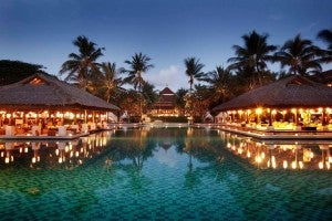 You could score a discount award at the Intercontinental Bali.