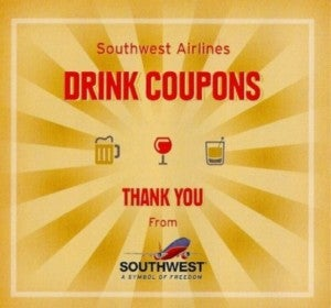 Got a drink voucher? Treat someone else to a cocktail!